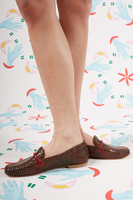 Woven Leather Loafers  image