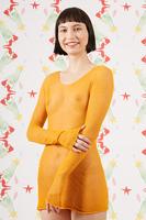 Saffron sheer sweater  image