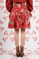 Cowgirl print skirt  image