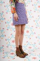 Cherry print mini skirt  image
