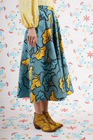 Full fan print skirt  image