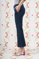 Cropped tailored jeans image