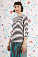 Chocolate striped t-shirt  image