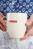 Cream Amore Mug image