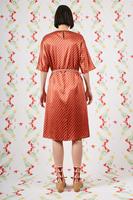Zig zag print tunic dress  image
