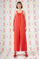 Checked dungarees  image