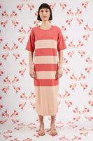 Striped knit dress  image