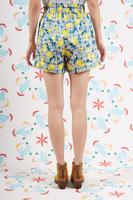 Lemon print shorts  image