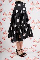 Polka dot skirt  image