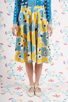 Floral Print Full Skirt  image
