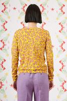 Animal print printed cardigan  image