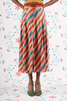 Diagonal Striped Skirt image
