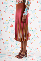 Brick striped knit skirt  image