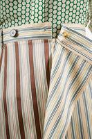 Striped column skirt  image