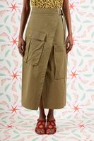 Wrap cargo skirt  image
