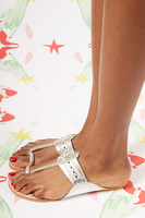 Metallic sandals  image