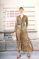 Printed Leopard belt image