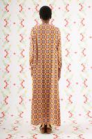 Geometric floral print tunic dress  image