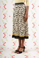 Daisy print pleated skirt  image