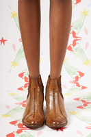 Ankle boots with stitching details  image
