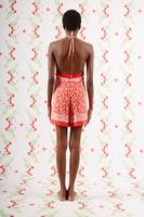 Paisley print romper suit  image