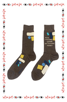F***, I F***ing Love My F***ing Family Men's Socks  image
