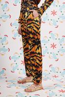 Tiger print pyjama pants image