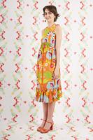 Vibrant Floral Print Sundress  image