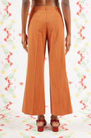 Striped Cropped Pants image