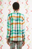Painterly Grid Shirt  image
