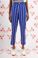 Royal Blue Striped Pants  image