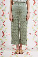 Geometric Pants with Contrast Piping  image