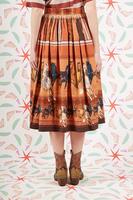 Horse print full skirt  image