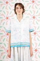Soaring through the clouds print shirt  image