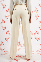 Ivory Wide Leg Pants  image