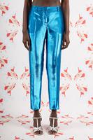 Electric Blue Metallic tapered pants image