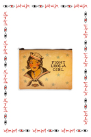 Fight Like a Girl medium pouch  image