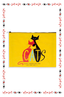Cats Large Pouch  image
