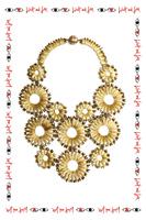 Starburst Statement Necklace  image