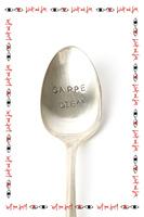 Carpe Diem Vintage Teaspoon image
