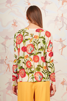 Poppy printed cashmere sweater  image