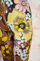 Floral print jersey  pants  image