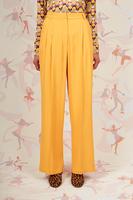 Sunflower wide leg pants with pleats  image