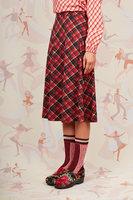 Tartan printed jersey skirt  image