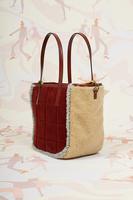 Textured tote bag image
