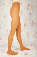 Caramel opaque tights  image
