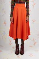 Papaya handkerchief skirt  image