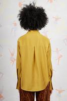 Mustard tailored shirt  image