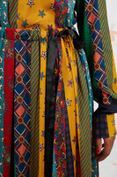 Mixed tie print skirt  image