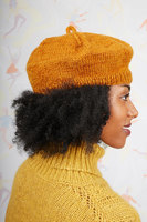 Pumpkin wool beret image
